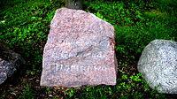 Kamień z międzyrzeckiej wieży Bismarcka - Dormowo