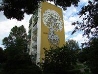 Mural Rezerwat przy Końskim Jarze