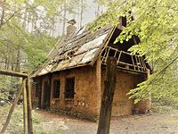 Opuszczony domek w Pławnie