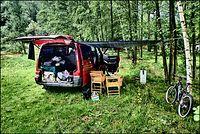 Na campingu Złota Dolina nr. 144