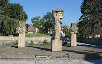Pomnik żołnierzy Armii Czerwonej w miejscowości Osoblaha (CZ)