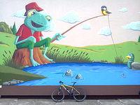 Mural w Mnichu