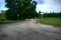 Zamknięta droga do Klępina