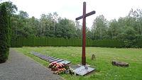 Pomnik ofiar obozu pracy w Łambinowicach