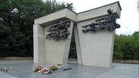 Pomnik Martyrologii Jeńców Wojennych 1964