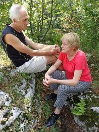 Ania z Krzyśkiem na Zielonej Górze