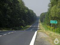 Krajówka do przejścia granicznego