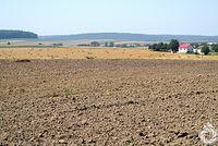 Mocno rolnicze pejzarze okolic Fredropola
