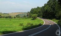 Przyjemne asfalty okolicy Wojtkowej