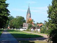 Kościół w miejscowości Lichnowy