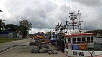 Port rybacki w Mrzeżynie