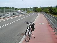 Droga wzdłuż ekspresówki w Skarżysku-Kamiennej
