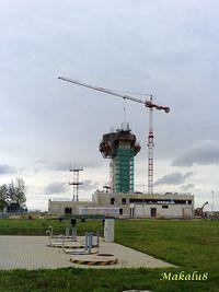 Budowa wieży w Pyrzowicach