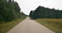 Z Grabarki do Radziwiłłówki też ładny asfalt