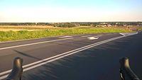 Takie widoki dzięki jezdzie na szosie :)
