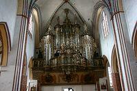 Organy w kamieńskiej katedrze