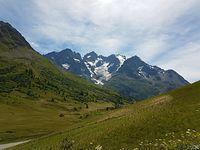 Na przełęczy Lautaret 2058 m n.p.m