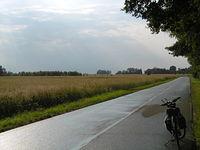 Kłobuck po deszczu