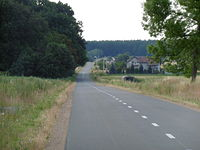 Lipie - Parzymiechy - Załęcze... Mieścina gdzieś na tej trasie