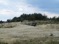 Inowłódz - bunkier na terenie kopalni