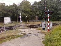 Przejście przez tory Sobolowa/Wiejska