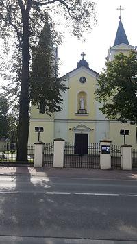 Kontrola czasu. Kościół Borzęcin Duży