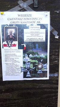Zaproszenie do Wierszów na 1 października