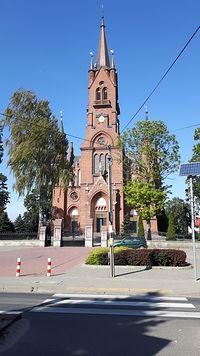 Latowicz, kościół parafialny z początku XX wieku