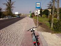 Bubel rowerowo-przystankowy
