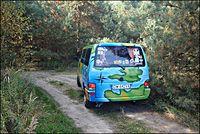 Pomalowany eurobusik :)