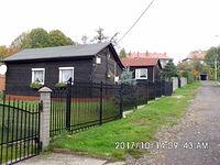 Domki przy ulicy Miodowej na Rozbarku