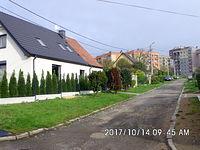 Domki przy ulicy Łącznej na Rozbarku