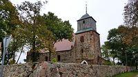 Kłodzino (niem. Kloxin) Kościół filialny p.w. św. Antoniego z XIII wieku