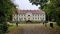 Przelewice (niem. Prillwitz) Pałac z 1. poł. XIX w