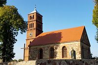 Turze (niem.Horst) Kościół filialny p.w. Najświętszego Zbawiciela