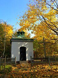 Kapliczka w Alei Brzozowej