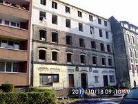 Nadbudowywanie kamienicy przy ulicy Wyzwolenia 67 w Świętochłowicach