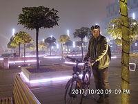 Wieczorem na Placu Kwiatowym w Katowicach