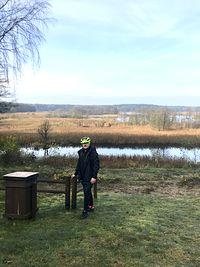 Punkt widokowy nad jeziorem