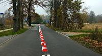 Obrazek z drogi łączącej Dobrą z Grzepnicą lub Sławoszewem