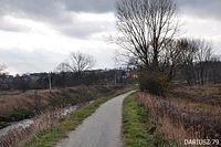 Będzin - Wał Droga rowerowa