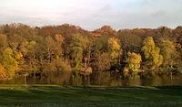 Jezioro Rusałka 14 listopada 17 r