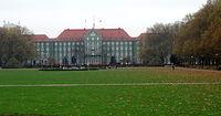 Urząd Miasta - widok od strony ulicy Zaleskiego