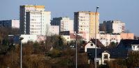 Fragment Szczecina, widok spod Auchan 17 listopada 17 r