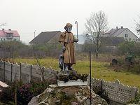 Figura św. Rocha w Lipnikach