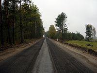Droga rowerowa koło Łysych ;)