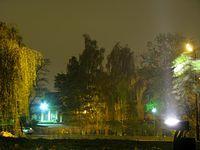 Nocne podwórko Sztygarki
