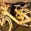 Drewniany rower