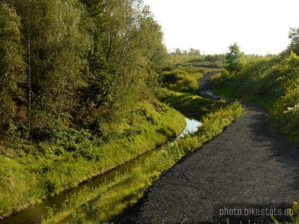 Ścieżka nad rowem miechowickim