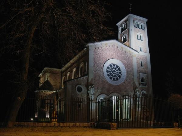 Pyry - kościół